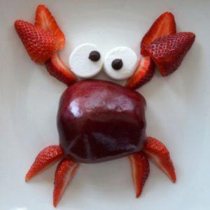 Crabby snack